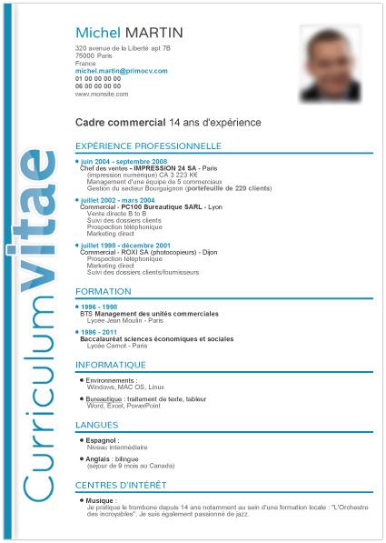 mod u00e8les de cv archives - page 2 sur 2